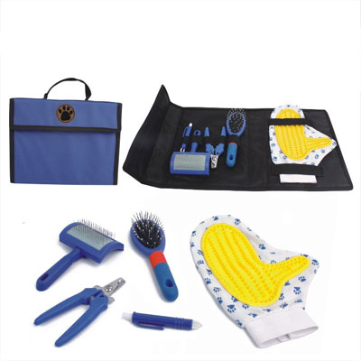 Pet Grooming Set With Carrier Bag£¨YB71993-A)