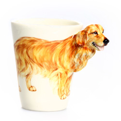 3D Mug - Golden Retriever