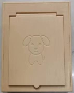 Pet paw imprint foam box souvenir